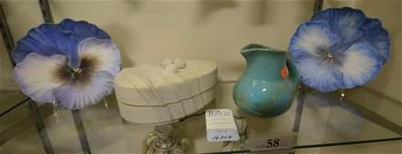 Shelf 58  4 Pcs Pottery