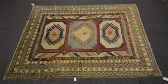 """Turkish Kazak Design Carpet 7'11""""x11'8"""""""