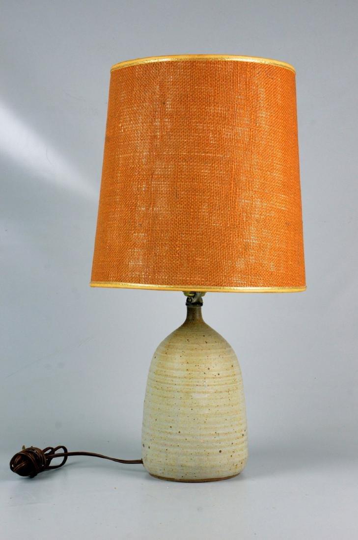 Ceramic glazed table lamp