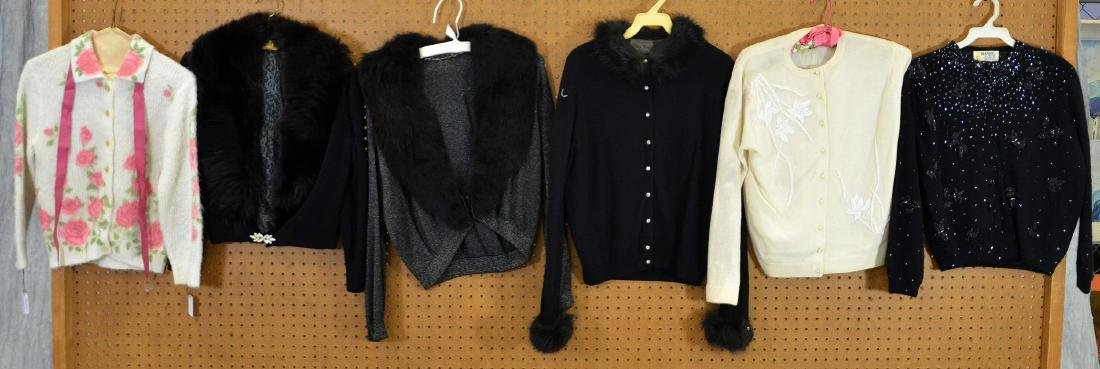 Vintage Embellished Wool Sweater Grouping