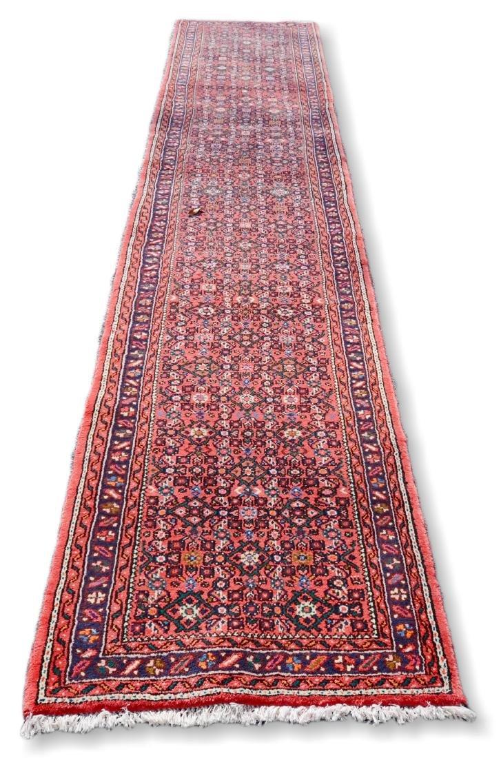 "Vintage Persian Herati Rug 2'8"" x 12'8"""