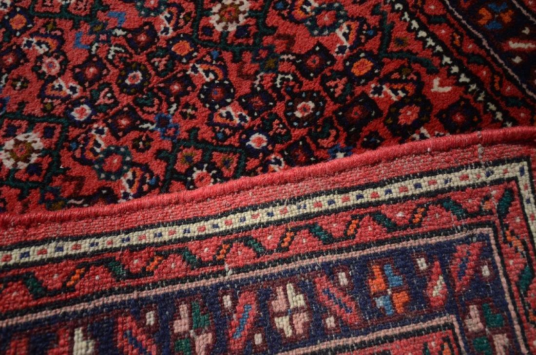 "Vintage Persian Herati Rug 2'8"" x 12'8"" - 2"