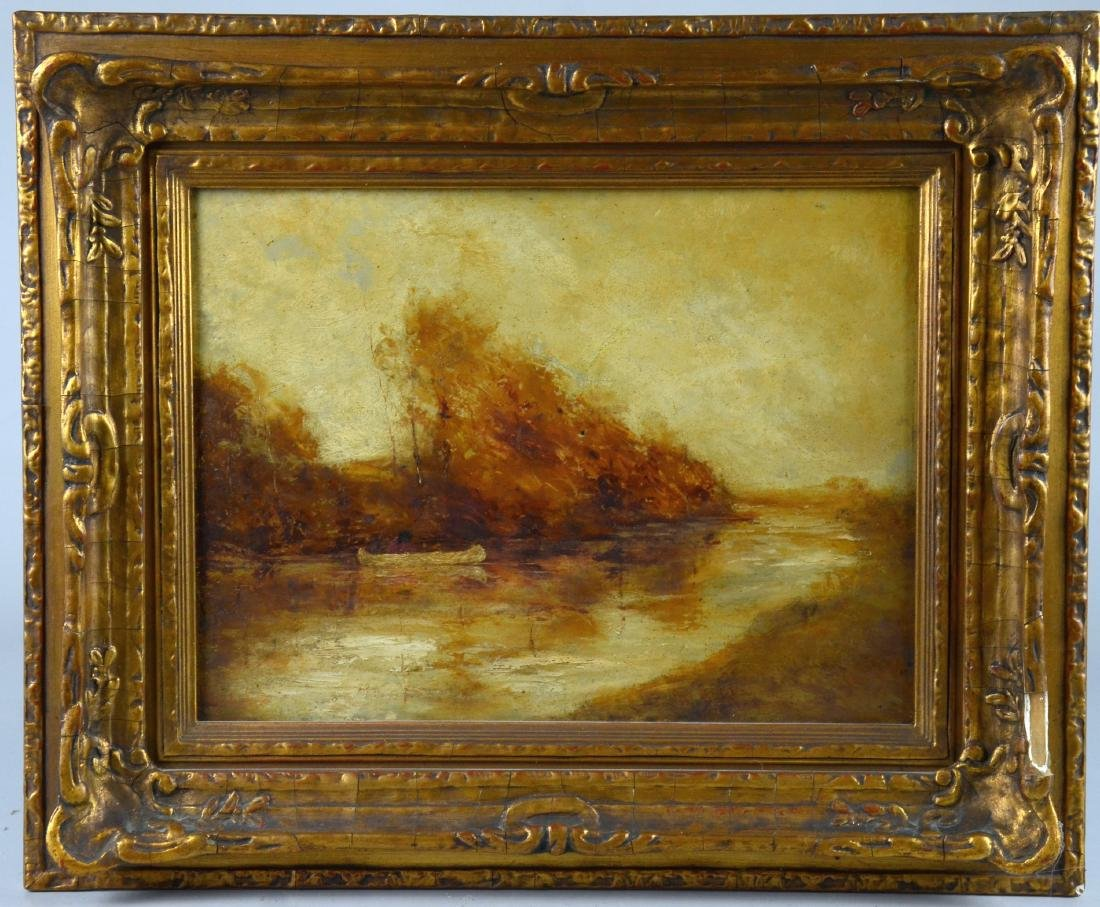 Ralph Albert Blakelock River Landscape Painting