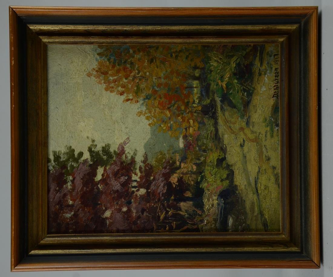 Charles Dahlgreen Impressionist Landscape Painting