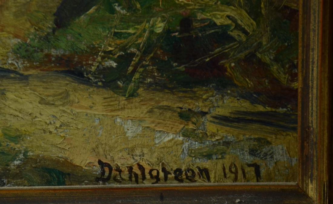 Charles Dahlgreen Impressionist Landscape Painting - 2