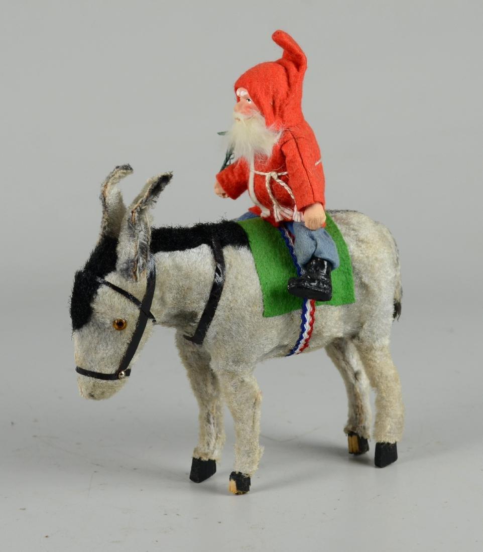 Santa Claus on Donkey