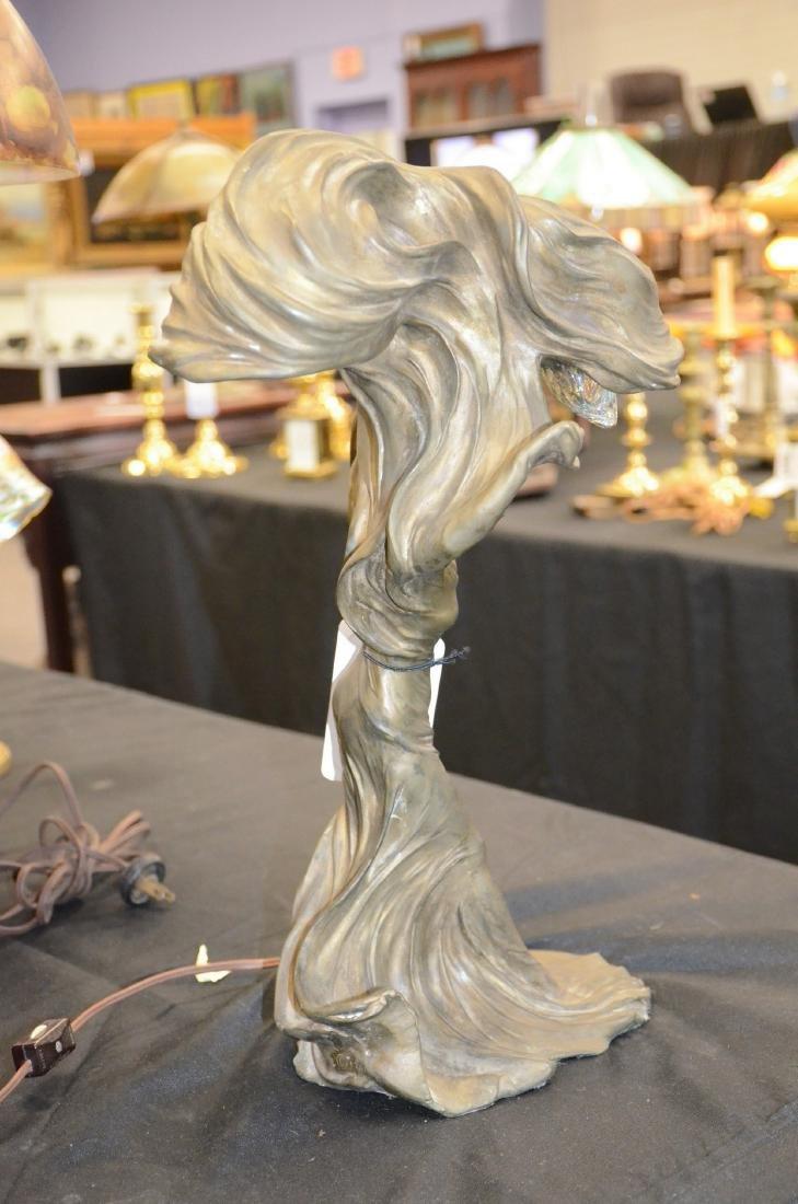 Raoul Larche Art Nouveau Dancer Lamp - 7