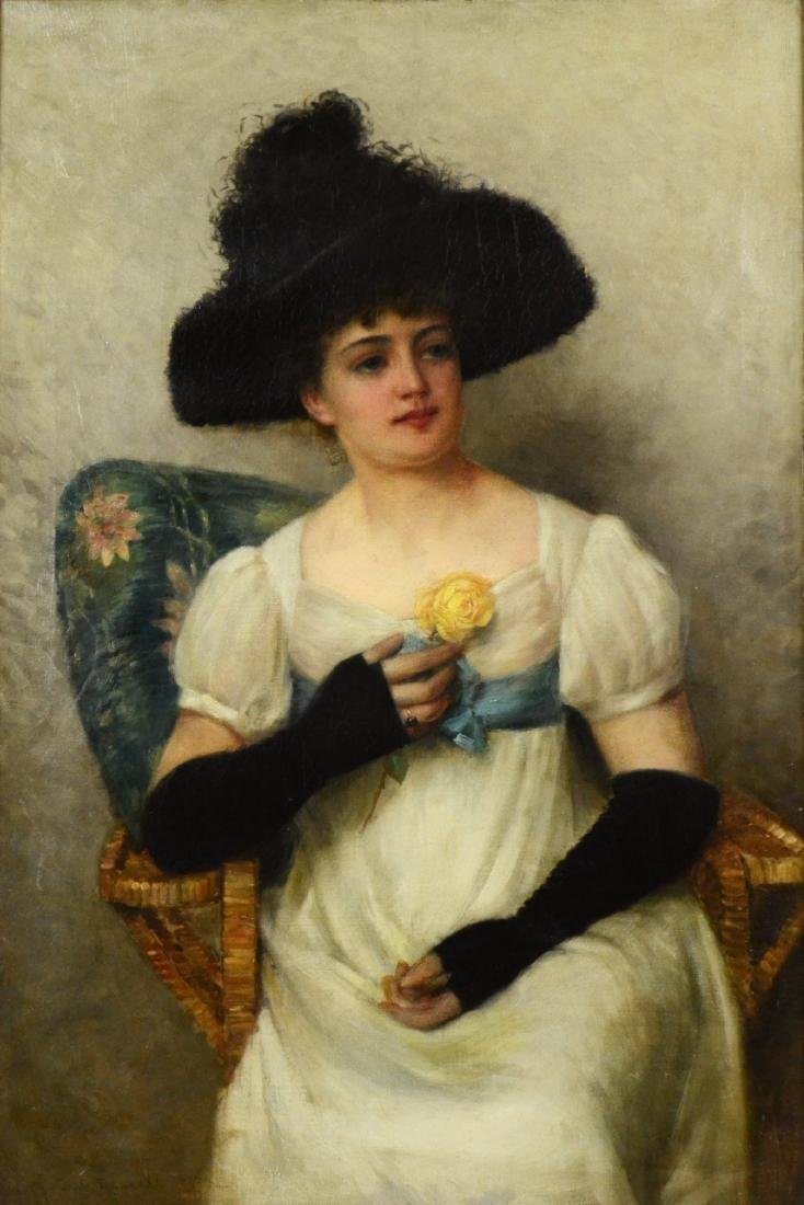 """Frank Russell Green (American, 1856-1940), """"The Yellow"""