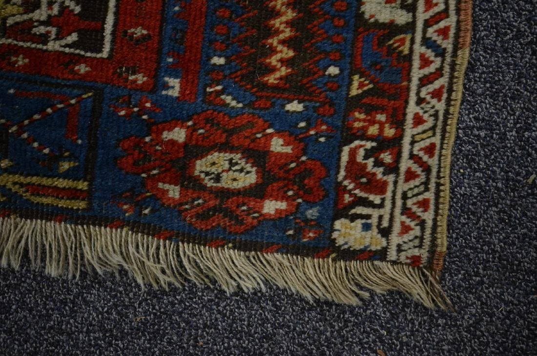 "Circa 1910's Turkish Ladik Prayer Rug 4'1"" x 7'1"" - 3"