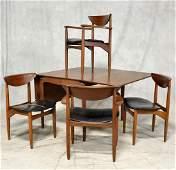 5-Pc Modern Design Teak Dining Set