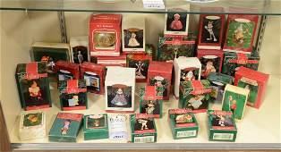 Shelf 65  30 Hallmark Christmas Ornaments