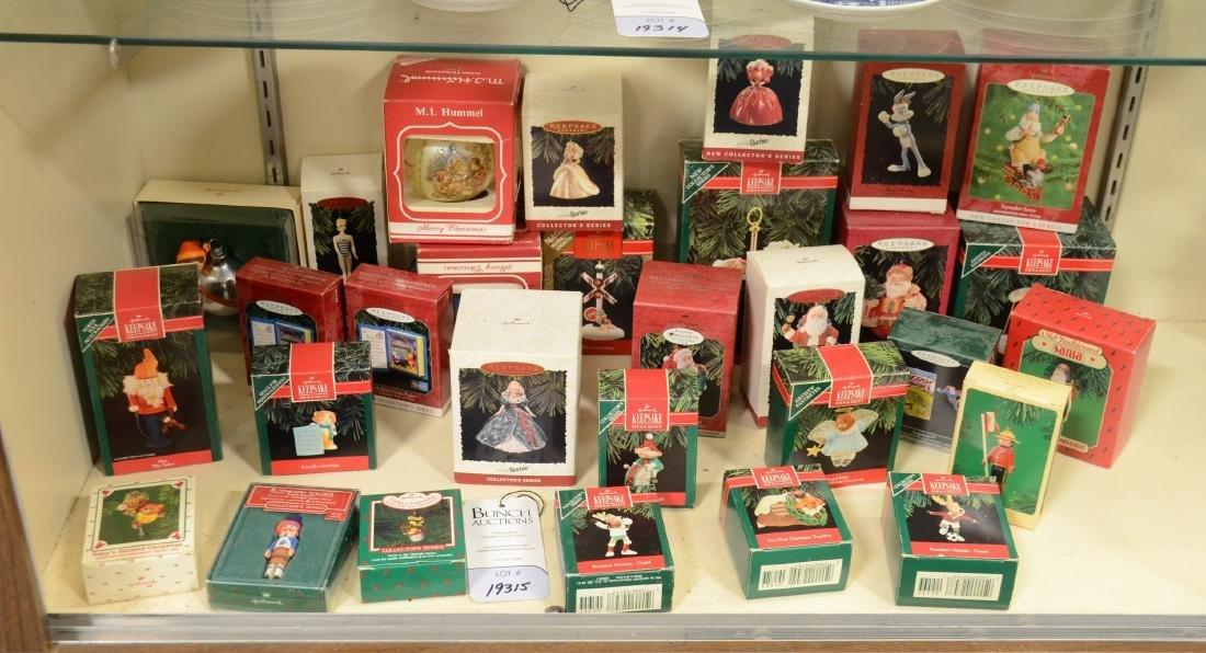 Shelf #65 - (30) Hallmark Christmas Ornaments