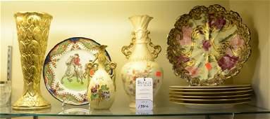 Shelf 66  5 Pcs Porcelain Doulton Burslem