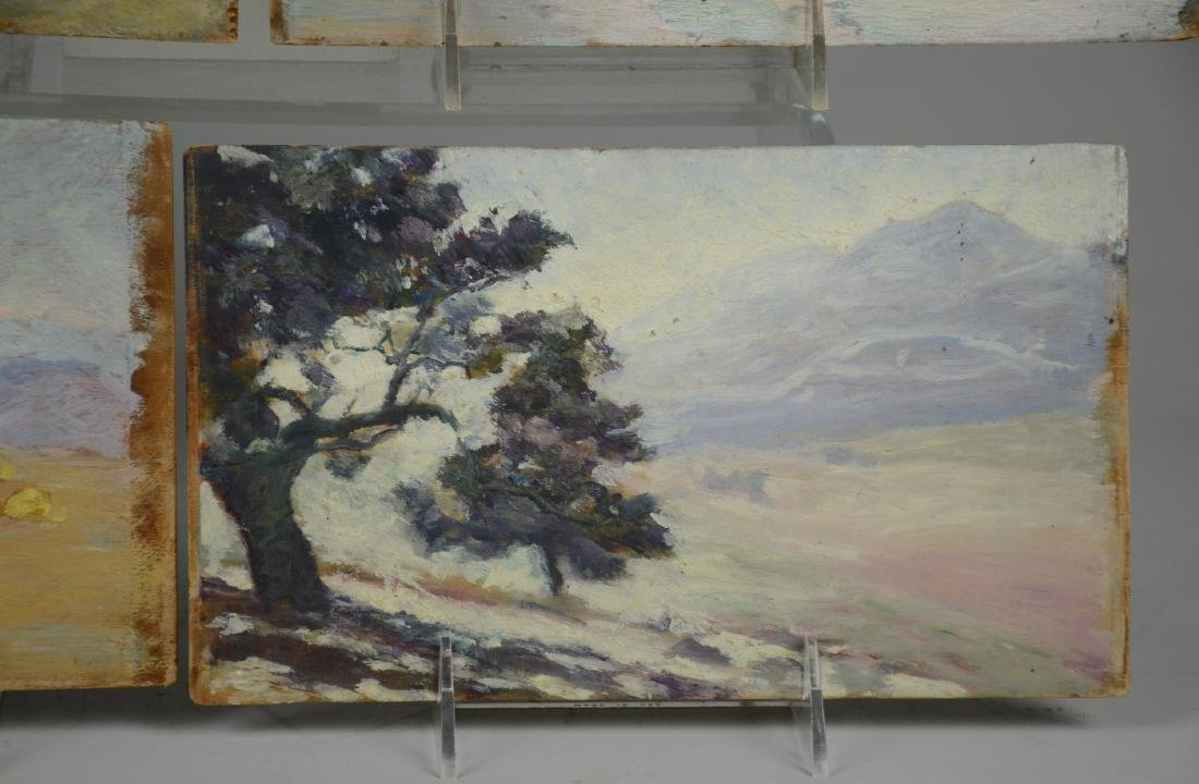 (5) Early 20th C American Landscape Paintings - 2