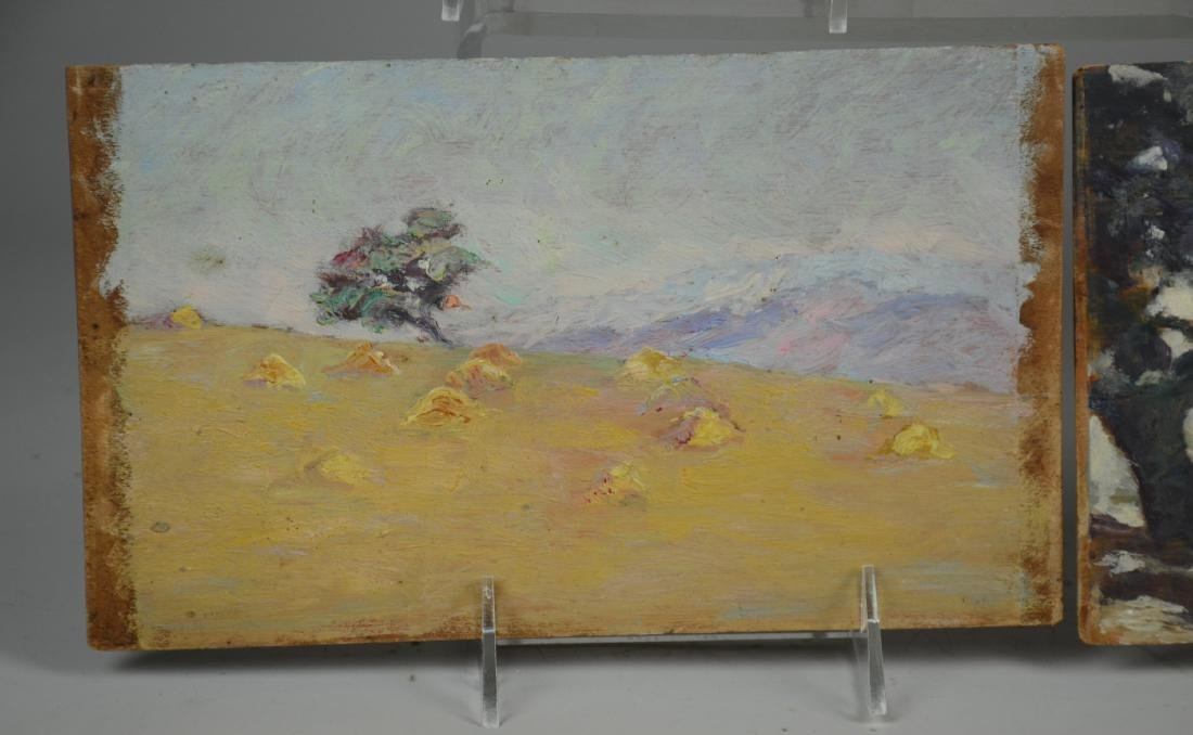 (5) Early 20th C American Landscape Paintings - 3
