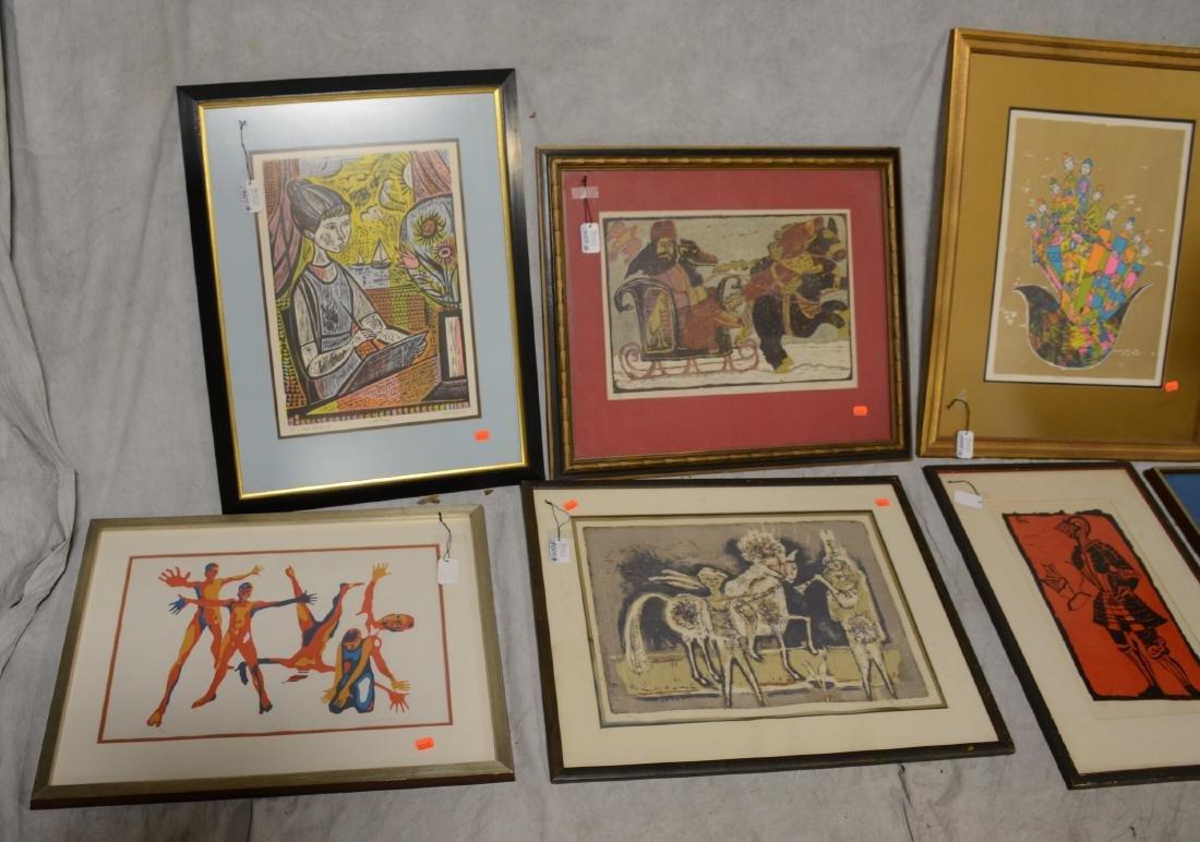 (8) 20th C. Prints - 2