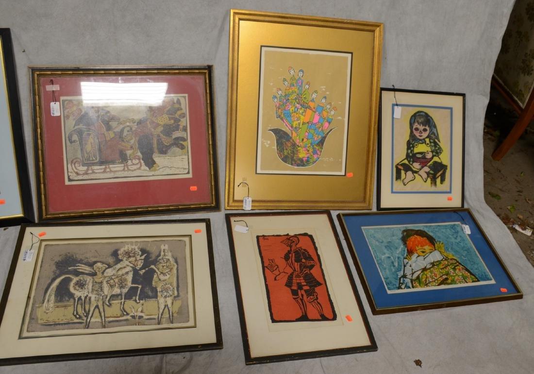 (8) 20th C. Prints - 3