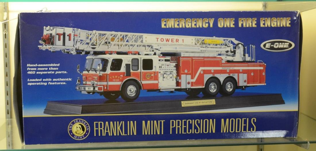 Franklin Mint Emergency Fire Engine