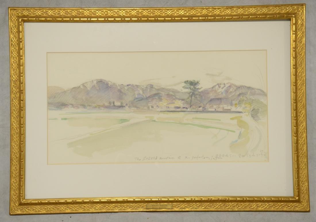 "Sadaya Ishigaki Watercolor ""Suzuka Mountain"""