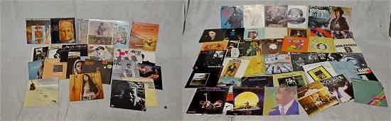 (66) Jazz and R&B Vinyl 33-1/3 Records