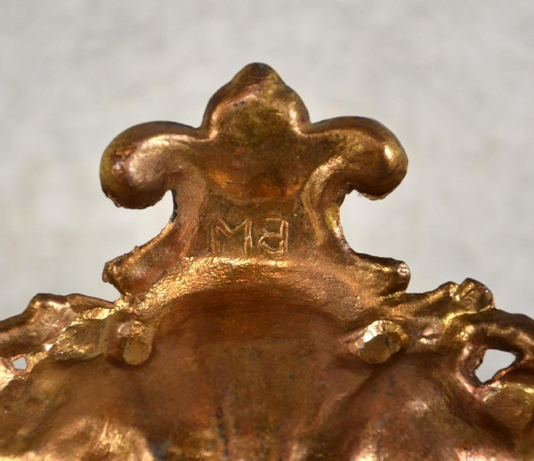 Brass Double Inkwell - 4