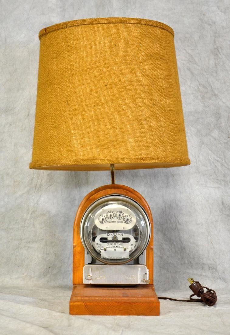 Electric Meter Table Lamp - 2