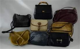 Vintage Leather Bag Grouping
