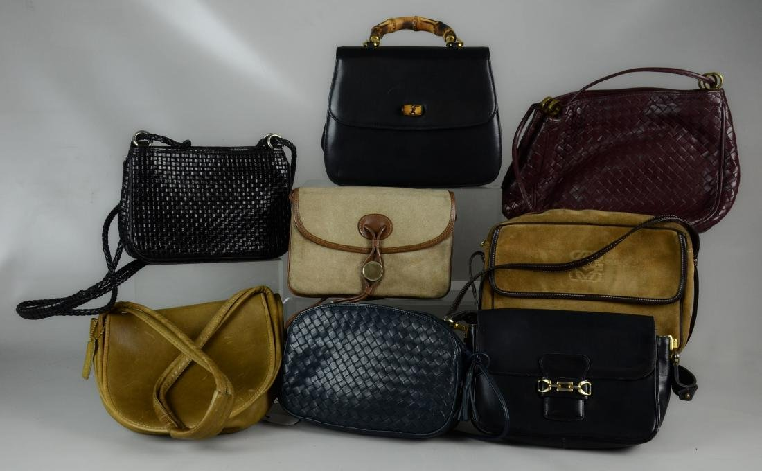 Vintage Leather Bag Grouping