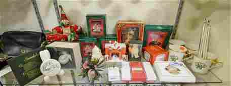 Shelf 39  Christmas Collectibles and Decor