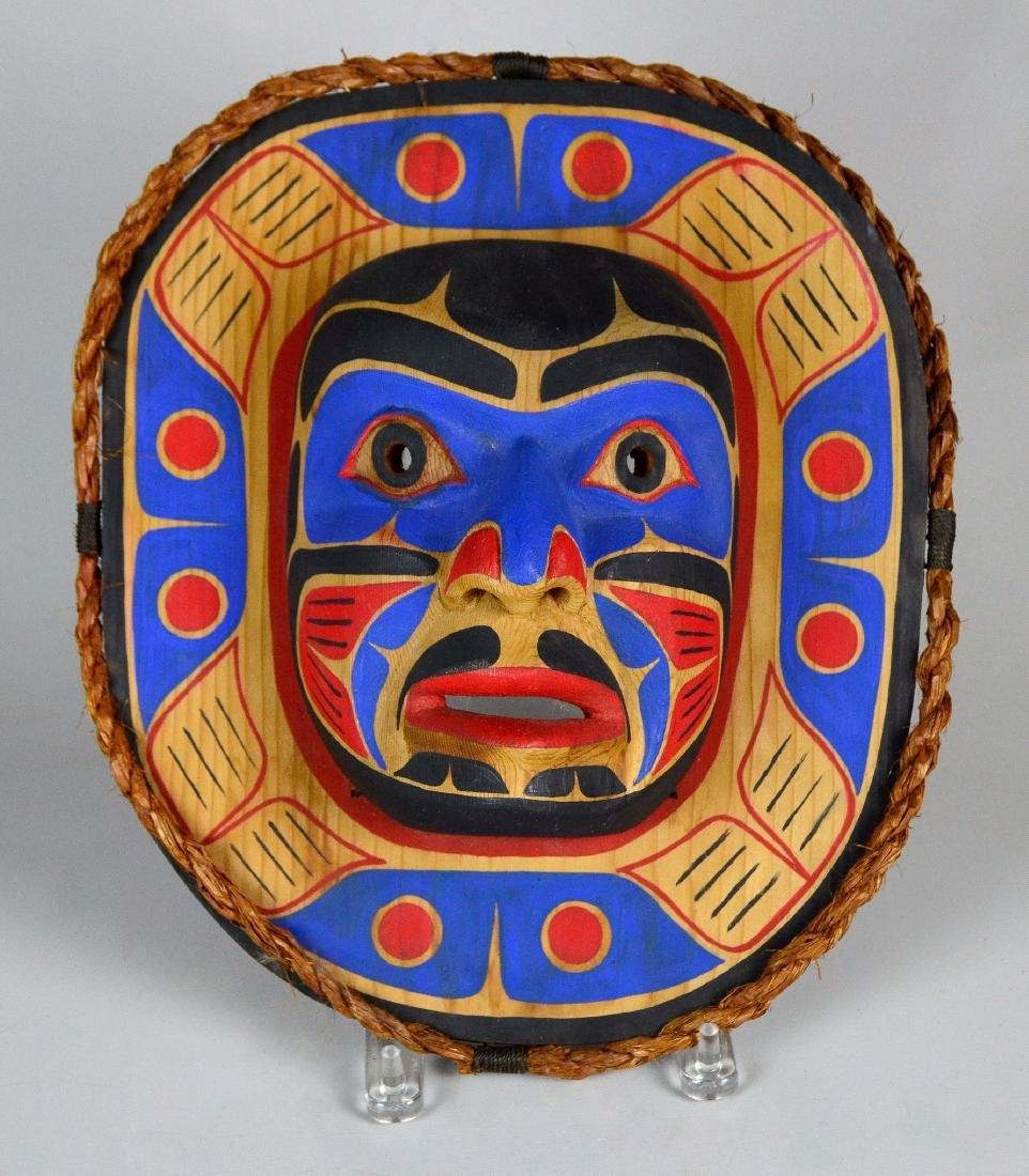 Northwest Coast Kwakiutl Moon mask - Emil Thibert