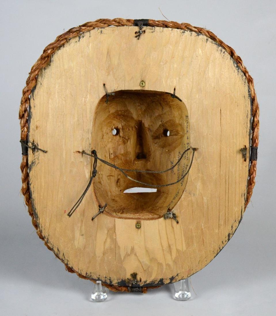 Northwest Coast Kwakiutl Moon mask - Emil Thibert - 3