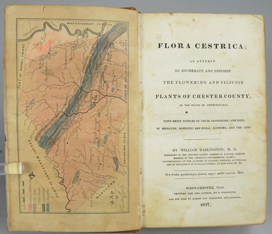 [Chester County] William Darlington MD, Flora Cestrica - 3