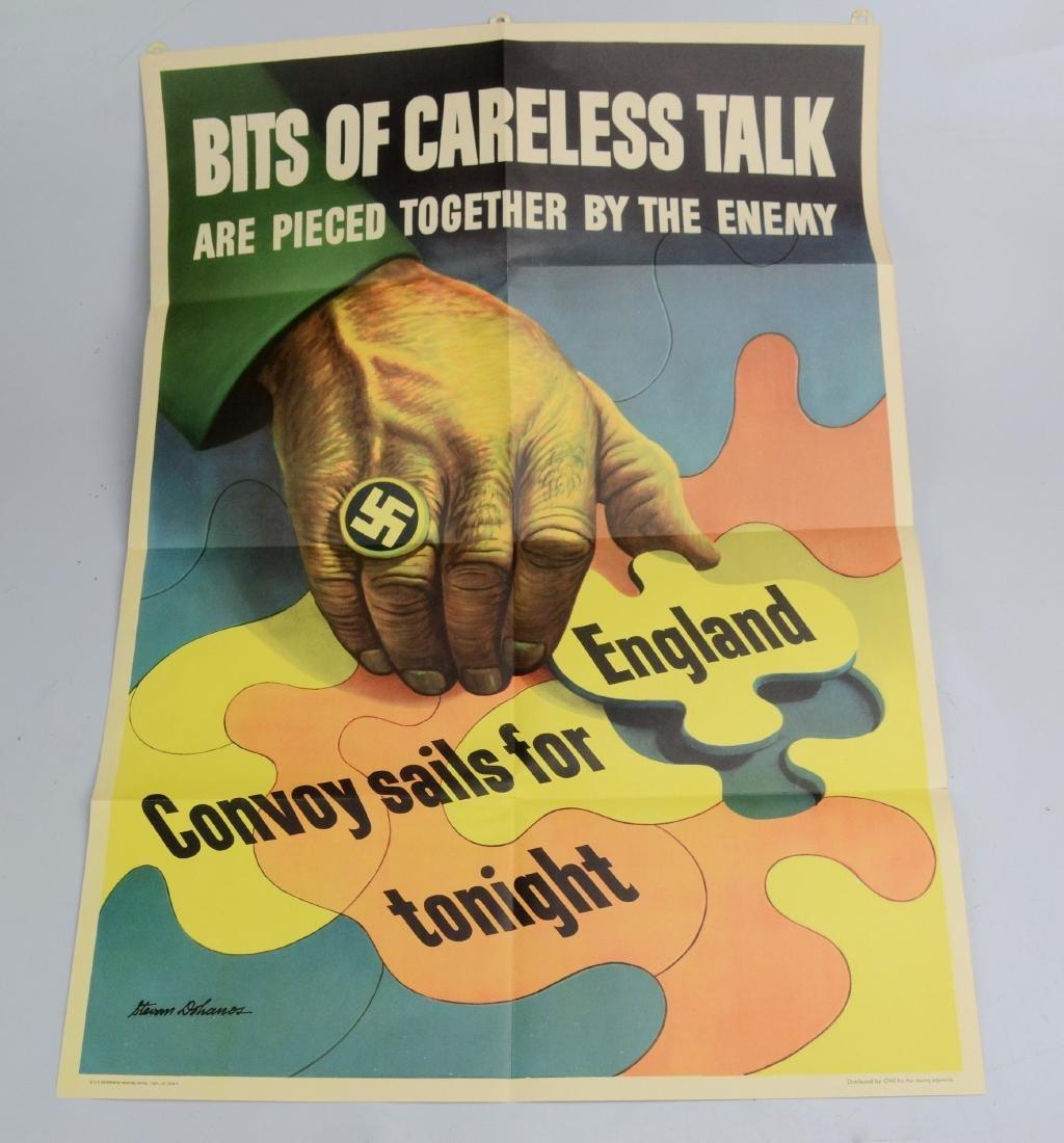 [WW2] Original World War II propaganda poster