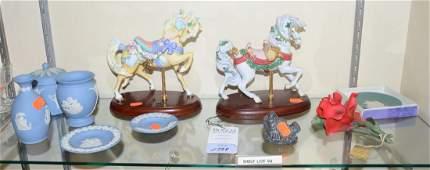 Shelf 98  Porcelain Lenox Wedgwood Capodimonte