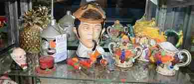 Shelf #54 - Porcelain Figural Lot