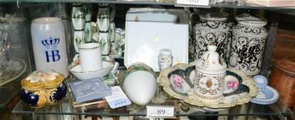 Shelf 89  Porcelain  Pottery