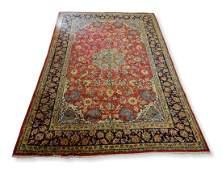 10 X 133 Semi Antique Persian Kirman