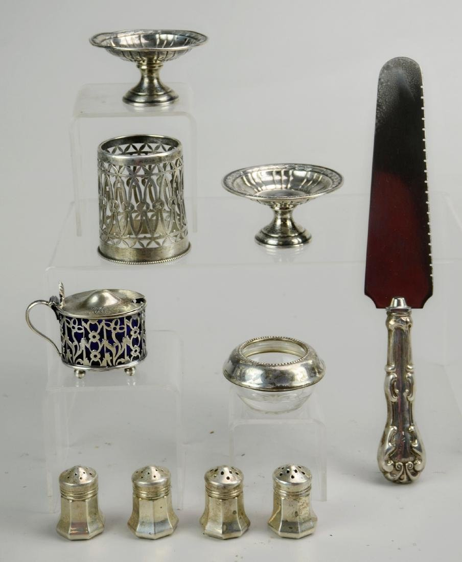 Sterling Silver Shakers and Compotes