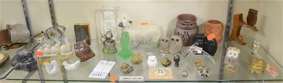 Shelf 89  Animal Figurines Lot
