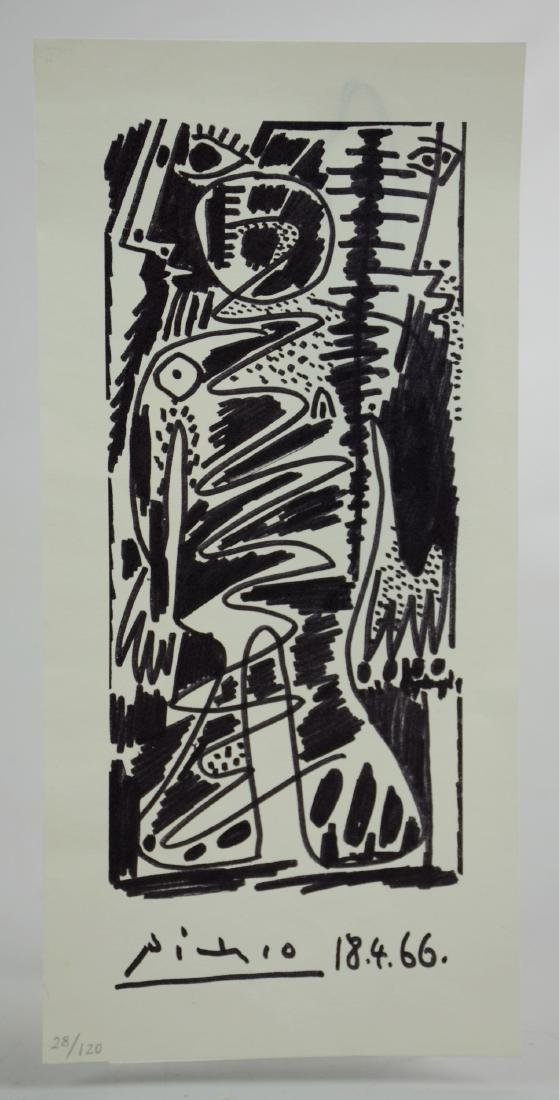 after Pablo Picasso, offset lithograph on paper - 2