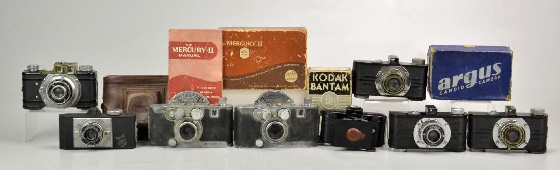 (8) Vintage 35mm Point and Shoot Cameras