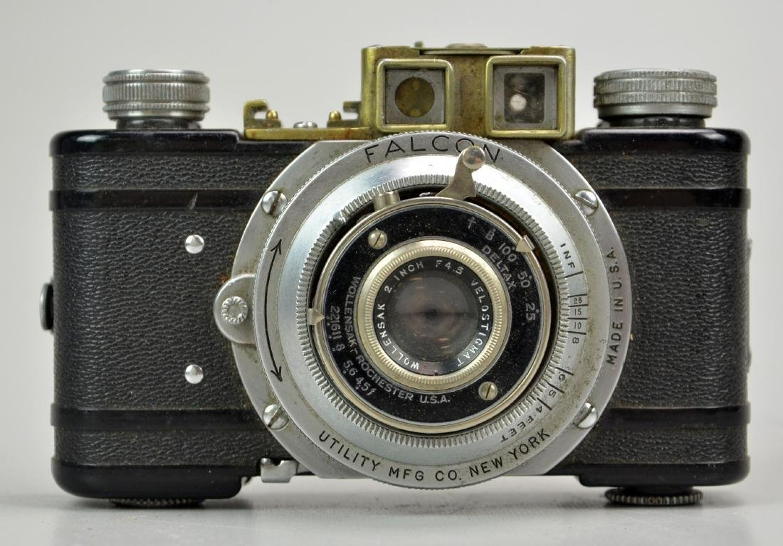 (8) Vintage 35mm Point and Shoot Cameras - 4