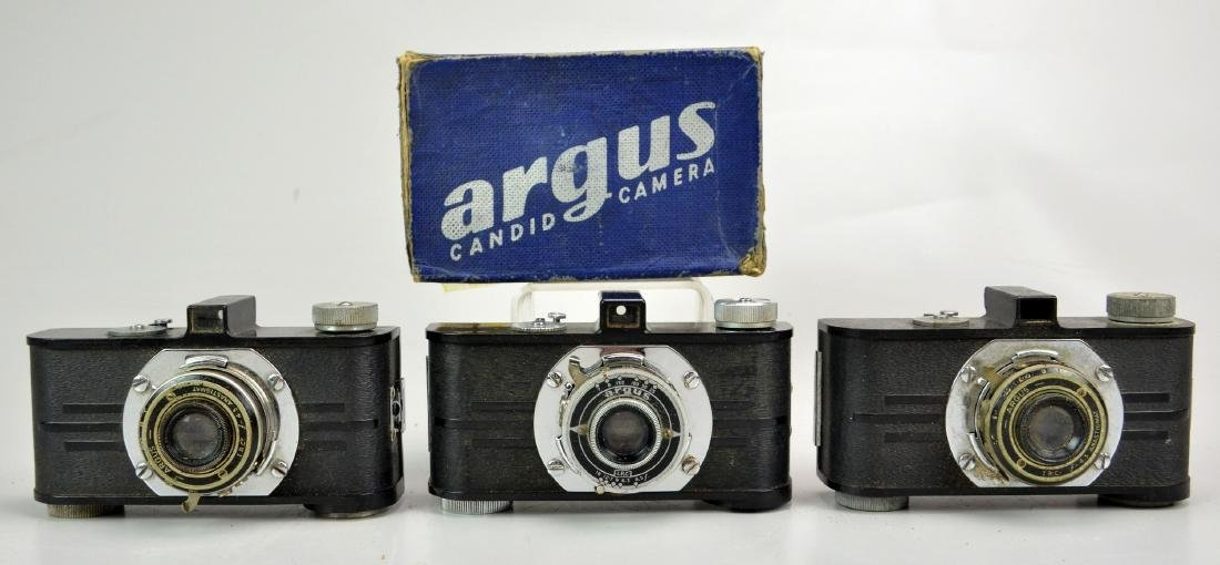 (8) Vintage 35mm Point and Shoot Cameras - 5