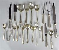 173 Pcs Towle Candlelight Sterling Flatware