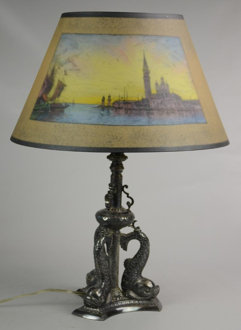 Pairpoint Painted Table Lamp - 2