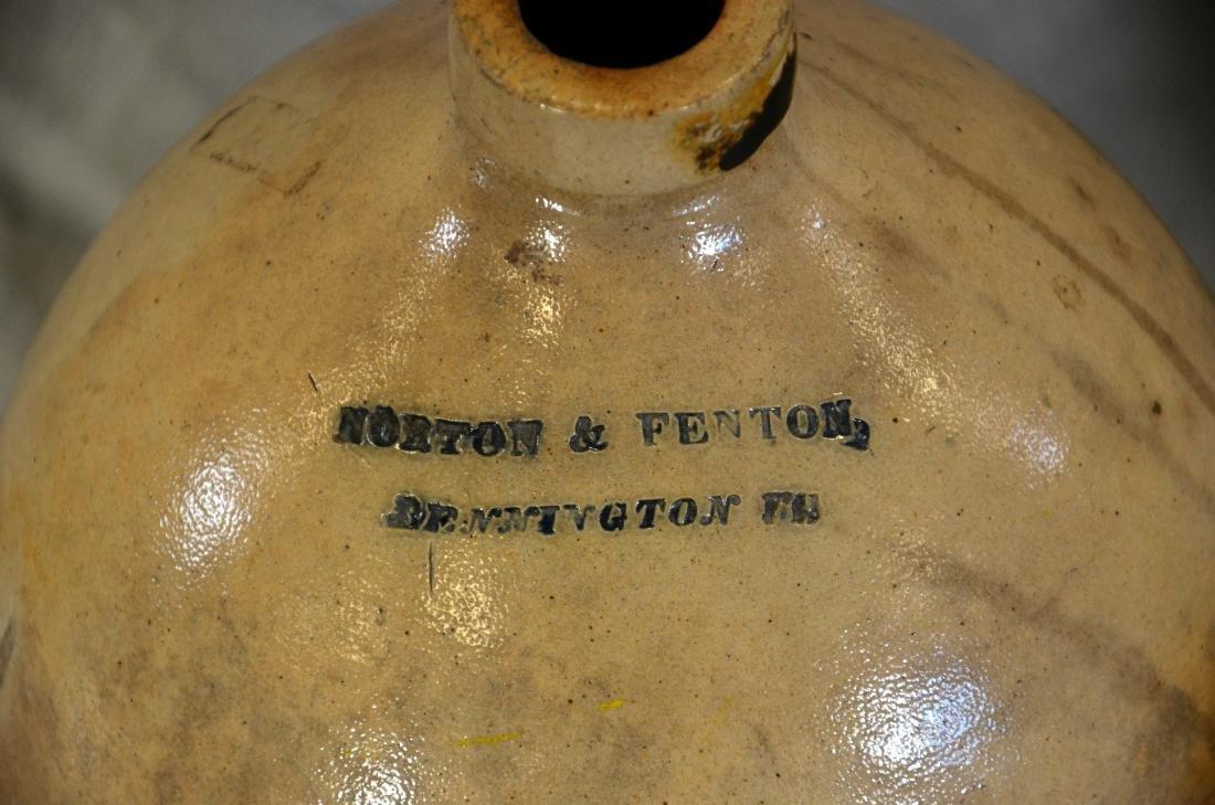 (1) Norton and Fenton Stoneware Jug, (1) Ceramic Water - 2