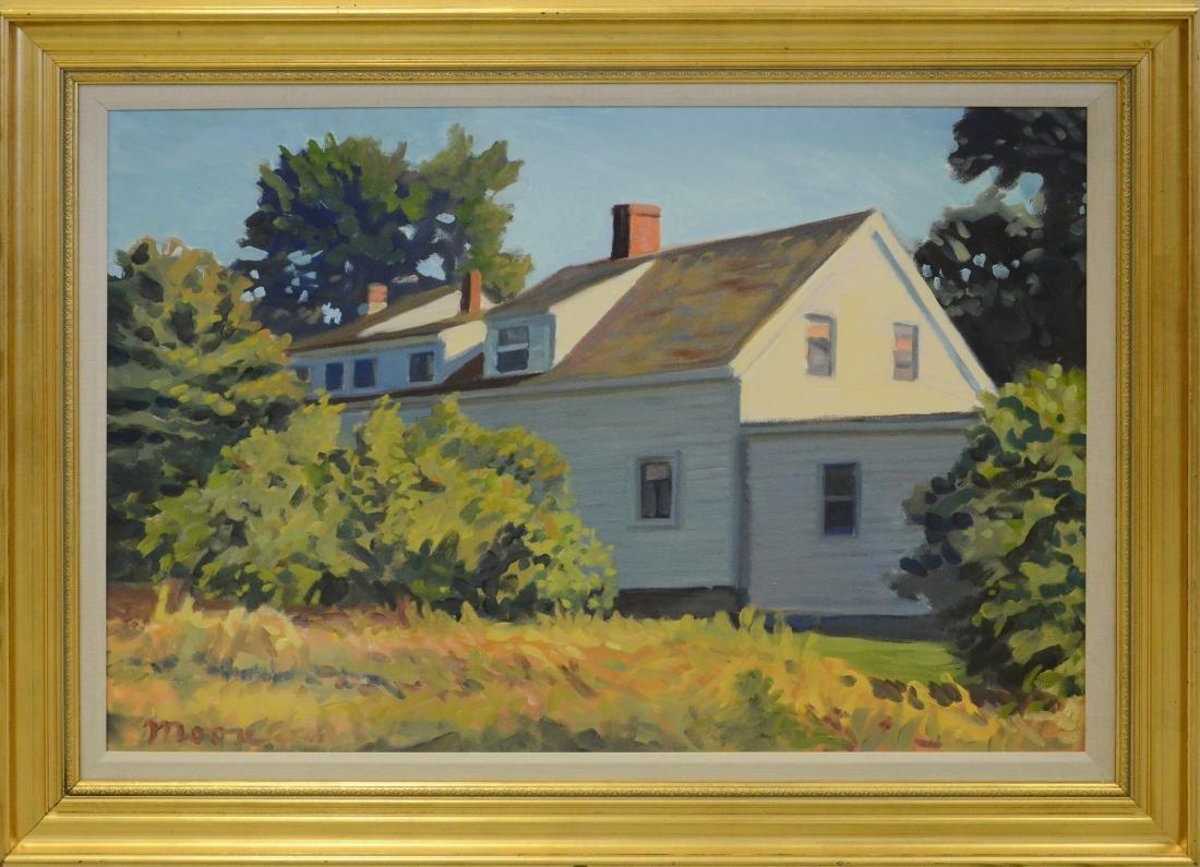 "Moore, Scott, oil on canvas ""Dormers"""