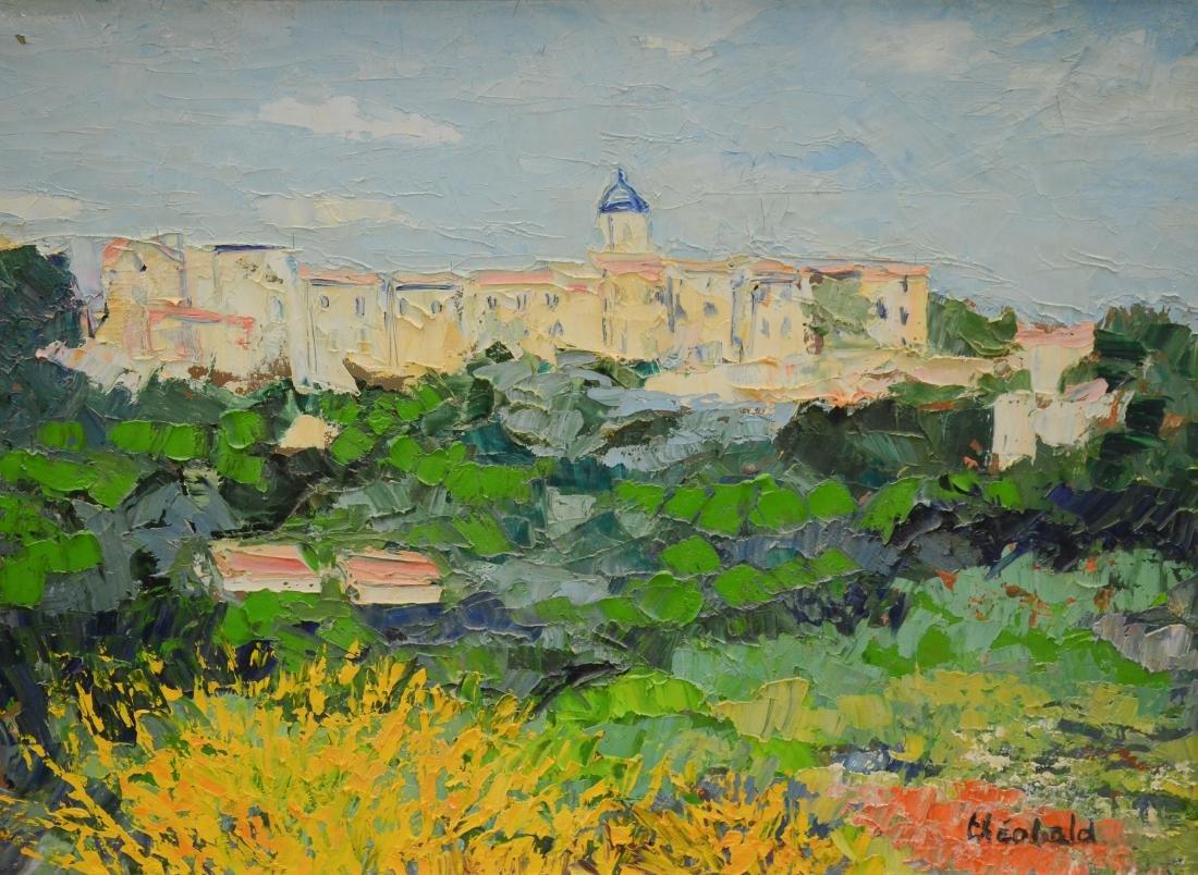 "Theobald, Renee, oil on canvas ""En Provence"""