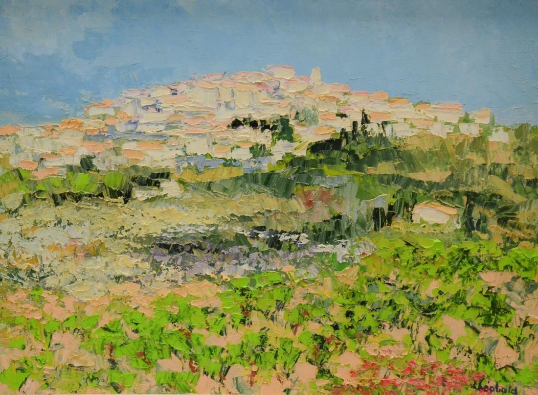 "Theobald, Renee, oil on canvas ""En Provence dans les"