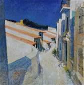 Neveu Pierre oil on canvas Cucuron